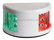 Fanale di via Mouse Deck bicolore corpo ABS bianco  [1103705]Accessori Nautici