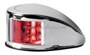 Fanale di via Mouse Deck rosso corpo inox  [1103721]Accessori Nautici