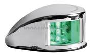 Fanale di via Mouse Deck verde corpo inox  [1103722]Accessori Nautici