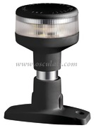 Luce di Fonda 360° Evoled in ABS nero (Blister 1Pz) [1103917]Accessori Nautici