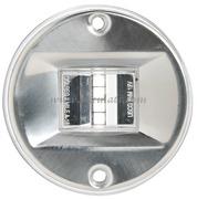 Fanali di via EVOLED con sorgente luminosa a LED a basso consumo. Fino a 12 m. Corpo Acciaio Inox lucido - Tipo Bianco 135 gradi Poppa