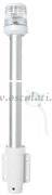 Accessori Nautica Asta 100 cm fanale 360 gradi bianco a parete  [1112301]
