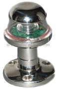Luci di via a LED serie ORIONS fino a 20 m - Corpo in INOX - Bianco 360 gradi testa albero