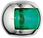 Accessori Nautica Fanale Compact 12 inox verde  [1140602]