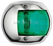 Accessori Nautica Fanale Classic 12 inox verde  [1140702]