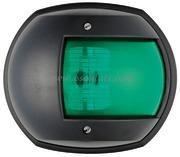 Serie MAXI 20 - Carcassa nera - 12 V 15 W- Tipo Verde 112,5 gradi Destro