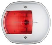 Serie MAXI 20 - Carcassa bianca - 12 V 15 W- Tipo Rosso 112,5  gradi Sinistro
