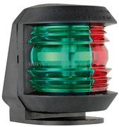 Luci di via UTILITY Compact per fissaggio in coperta - Carcassa Nera - Tipo Rosso-Verde 225 gradi Bicolore