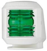 Luci di via UTILITY Compact per fissaggio in coperta - Carcassa Bianca - Tipo Verde 112,5 gradi Destro