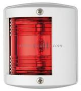 Luci di via UTILITY 77 -  Rosso 112,5 gradi sinistro - Carcassa bianca