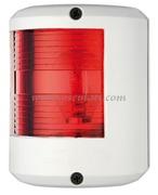 Serie fanali UTILITY 78 - Carcassa bianca - 12 V - Tipo Rosso 112,5  gradi Sinistro