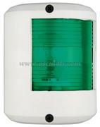 Serie fanali UTILITY 78 - Carcassa bianca - 12 V - Tipo Verde 112,5  gradi Destro