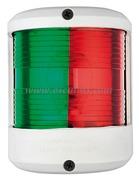 Serie fanali UTILITY 78 - Carcassa bianca - 12 V - Tipo Rosso/Verde 225 gradi Bicolore