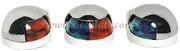 Accessori Nautica Fanale di coperta inox 225 gradi bicolore  [1150705]