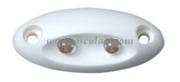 Accessori Nautica Mini luce di cortesia 2 Led  [1317701]<br/><font color=#962308>Quantità Minima: 4 pezzi (3.59€ al p.zo) </font>