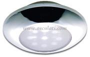Accessori Nautica Plafoniera stagna LED cromata  [1317902]