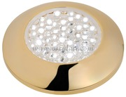 Accessori Nautica Plafoniera stagna LED dorata  [1317903]