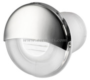 Luce di cortesia LED da incasso tonda bianca  [1318811]Accessori Nautici