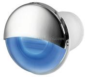 Luce di cortesia LED da incasso tonda blu  [1318812]Accessori Nautici