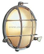 Accessori Nautica Lampada stagna ottone cromato  [1320289]