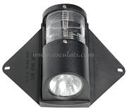 Luce di via e luce coperta Utility per scafi fino a 12 m