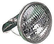 Accessori Nautici Faro per crocetta in acciaio inox con base provvista di snodo sferico. 12 Volt