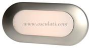 Accessori Nautica Plafoniera Merak satin. nikel  [1343103]<br/><font color=#962308>Quantità Minima: 2 pezzi (6.13€ al p.zo) </font>