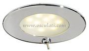 Accessori Nautica Plafoniera Adria LED inox con interruttore  [1344702]