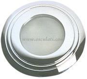 Faro ottone cromato Sextans R 12/2 4V 20 W