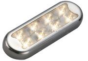 Accessori Nautica Plafoniera Bimini inox compatta a 8 LED  [1352501]