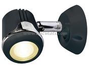 Accessori Nautica Faretto nero Hi-Power LED 12/24 V  [1389602]
