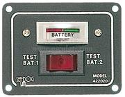 Accessori Nautica Pannellino tester per 2 batterie  [1410002]
