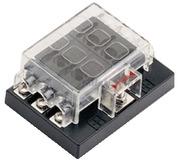 Accessori Nautica Box per 6 fusibili lamellari  [1410070]