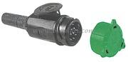 Accessori Nautica Spina 13 poli rimorchi  [1419102]<br/><font color=#962308>Quantità Minima: 2 pezzi (5.69€ al p.zo) </font>