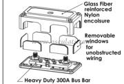 Accessori Nautica Terminali Bus Bar Heavy Duty 6 x 5 mm  [1420931]