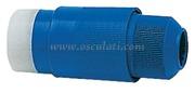 Accessori NauticiSPINA Materiale:policarbonato + moplen Colore:blu
