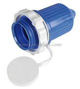 Accessori NauticiPRESA Cappuccio Materiale:pvc Colore:blu
