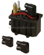 Accessori NauticiStaccabatteria/teleruttore a ritenuta meccanica 12 Volt