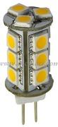 Accessori Nautica Lampadina LED 12/24 V G4 2,4 W 161 lm  [1444112]