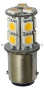 Accessori Nautica Lampadina LED 12/24 V BA15D 2 W 140 lm  [1444311]