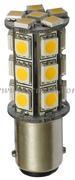 Accessori Nautica Lampadina LED 12/24 V BA15D 3,6 W 264 lm  [1444312]