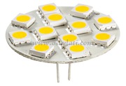 Accessori Nautica Lampadina 12 LED G4 diamatro 30 mm attacco posteriore  [1445002]
