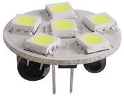 Accessori Nautica Lampadina 6 LED G4 diamatro 24 mm attacco posteriore  [1445006]<br/><font color=#962308>Quantità Minima: 2 pezzi (5.75€ al p.zo) </font>