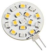Lampadina LED SMD bicolore zoccolo G4