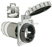 Accessori NauticiPresa acciaio inox AISI 316 contatti maschio - 50A - 125/250 Volt
