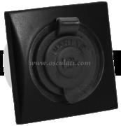 Accessori Nautica Presa accendisigari nera  [1449111]