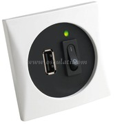 Accessori Nautica Presa USB bianca 5 V  [1449401]