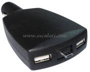 Accessori Nautica Adattatore doppio USB + micro USB  [1451711]