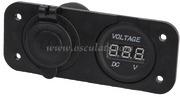 Accessori Nautica Voltmetro digitale e presa corrente  [1451721]