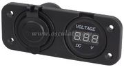 Accessori Nautica Voltmetro digitale e presa USB doppia  [1451722]